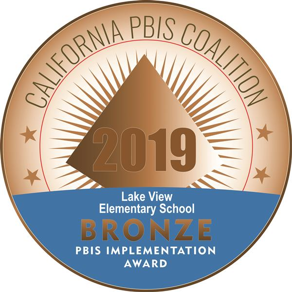 Bronze Award for PBIS