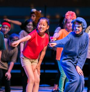 Westmont performers in Disney production
