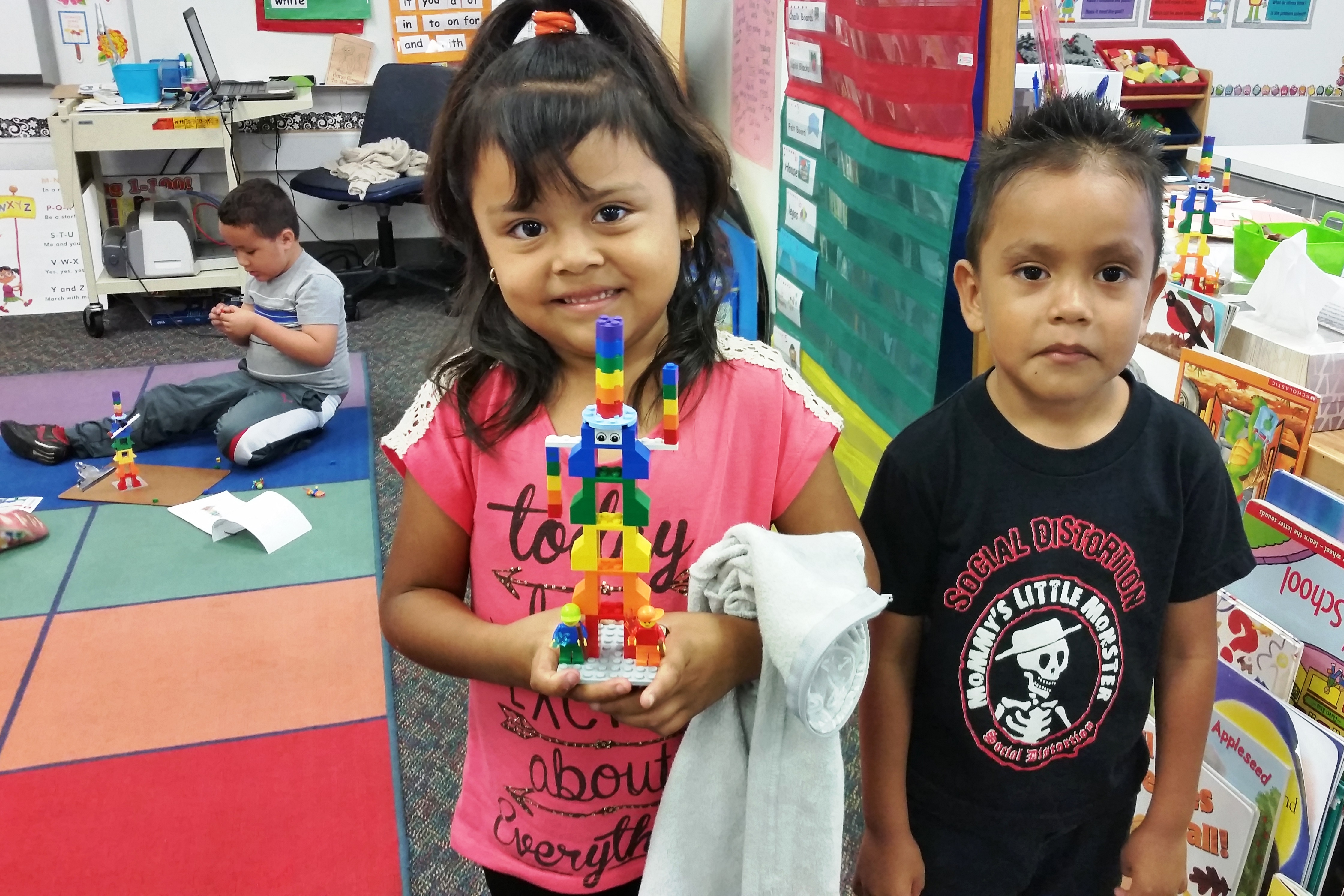 Students Share Lego Creations