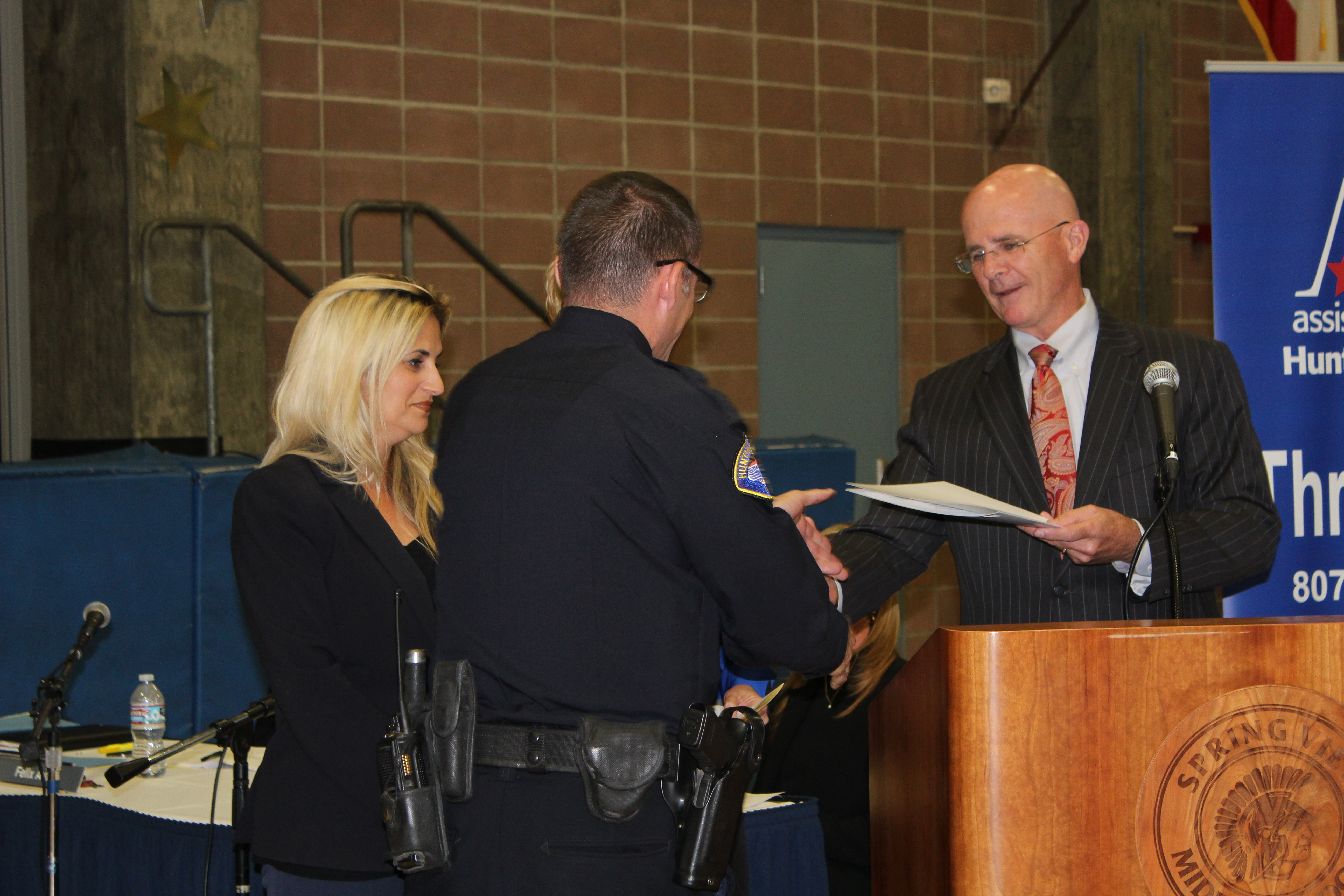 HBPD Officer Derek Young Recognized