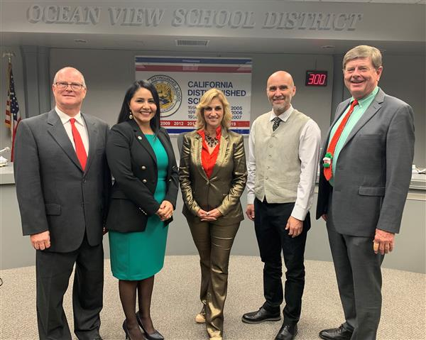 Board of Trustees Elects New Officers