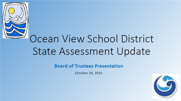 State Assessment Update