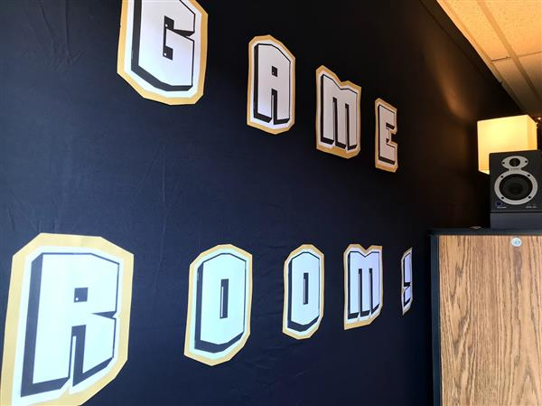 Game Room wording graphic