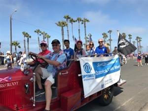 OVSD in the HB 4th of July Parade