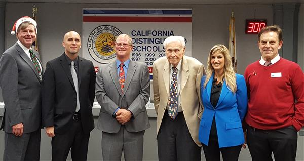 OVSD Board of Trustees with Dr. Ralph Bauer