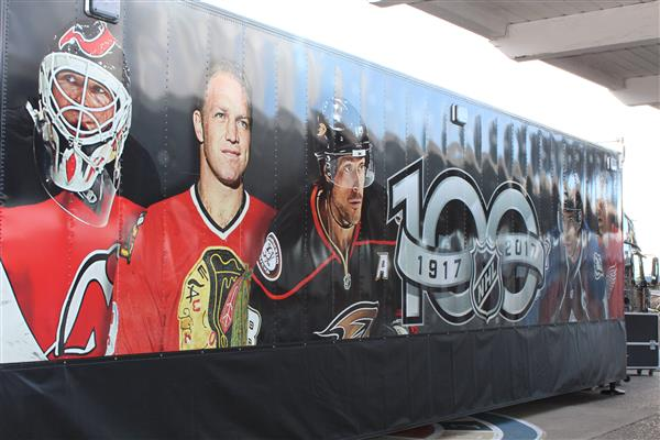 NHL Centennial Trailer Photo