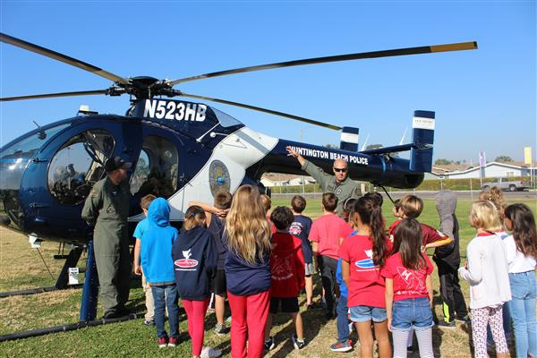 OVSD IN THE NEWS: ABC7 Coverage of Harbour View First Responders Fair & Veterans Day Patriotic Assembly