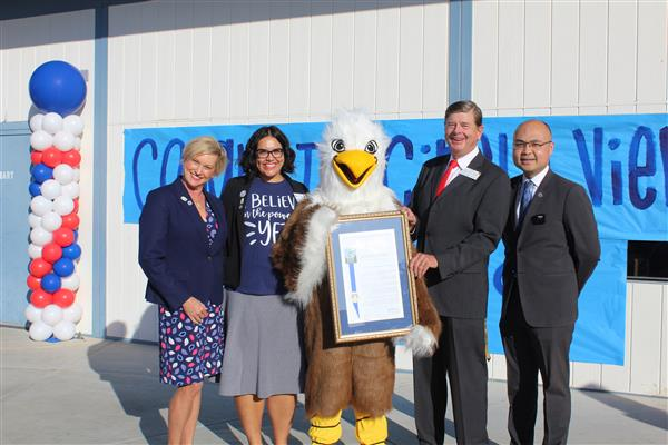 OVSD IN THE NEWS: Assemblyman Diep Honors Circle View as a National Blue Ribbon School