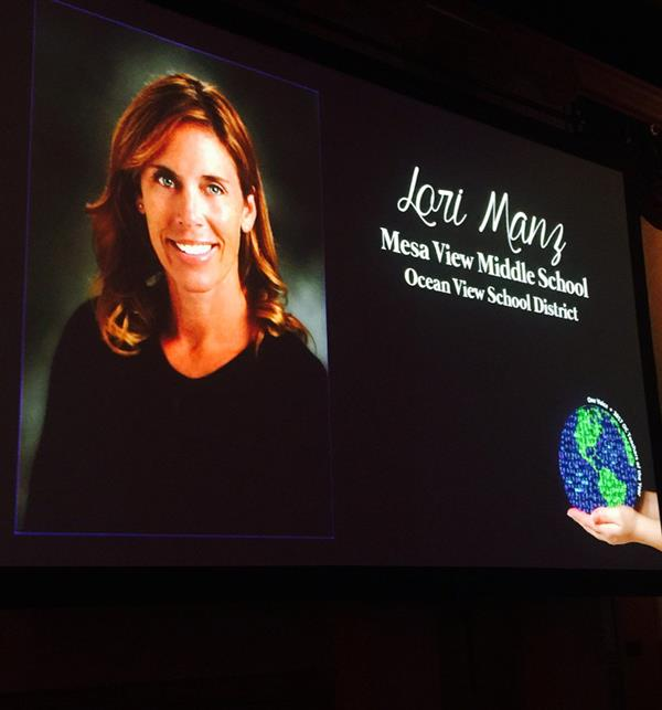 Teacher Lori Manz Celebrated by OCDE