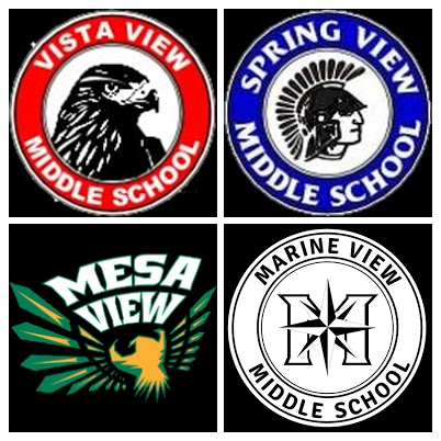 OVSD middle school logos