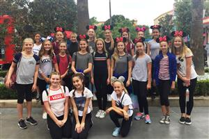 Marine View Dance Team at Disney Workshop