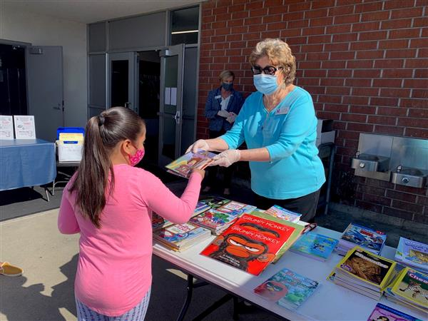 IN THE NEWS: Assistance League of HB donated 2,200 books to OVSD students