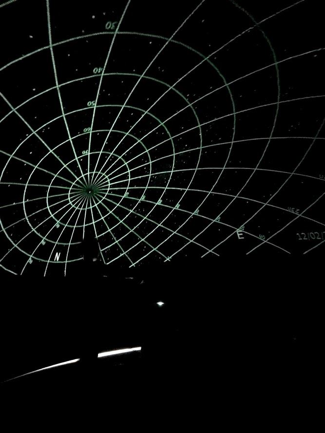 Star grid in planetarium