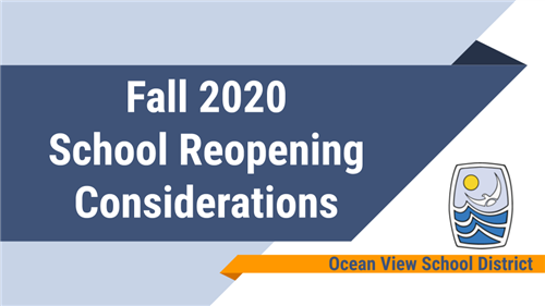 School Reopening Considerations