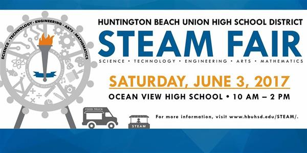 STEAM Fair on June 3 at Ocean View HS