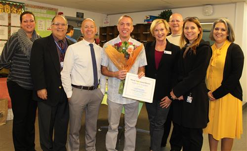 Scott Vanatta, Teacher of  the Year