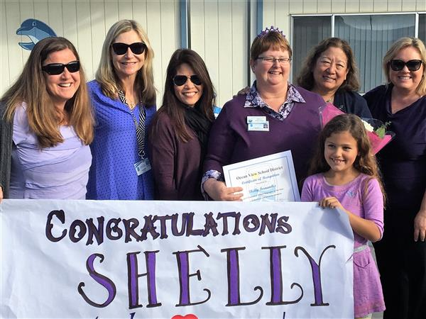 Shelly Fernandez Classified Employee of the Year