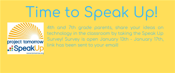 Technology Survey for 4th & 7th Grade Parents