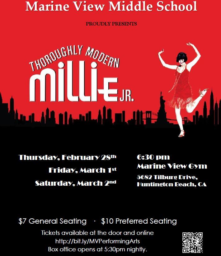 Thoroughly Modern Millie Jr poster