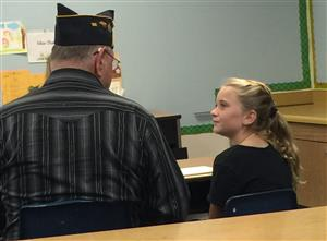 Harbour View Student Interviews American Legion Post 133 Veteran