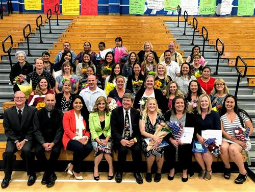 2019 OVSD Distinguished School Volunteers