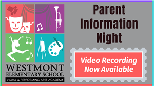 Parent Info Night Recording