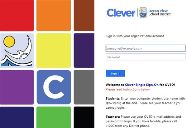 Clever SSO Login