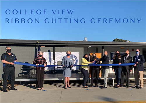 CV Ribbon Cutting